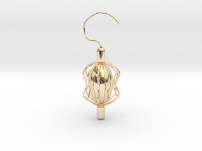 Something Inside Earring in 14k Gold Plated Brass