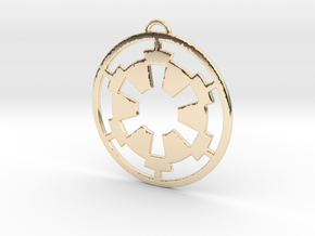 Imperial Pendant in 14K Yellow Gold