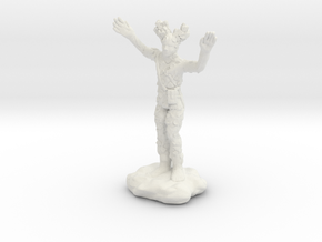 Wilden Warden Greenman Standing Pose in White Natural Versatile Plastic