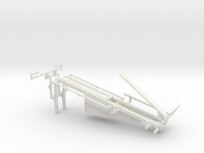 1/64 Bale Stinger in White Natural Versatile Plastic