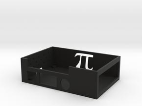 Raspberry Pi And Adafruit Motorhat Case Bottom in Black Natural Versatile Plastic