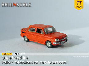 NSU TT (TT 1:120) in Smooth Fine Detail Plastic