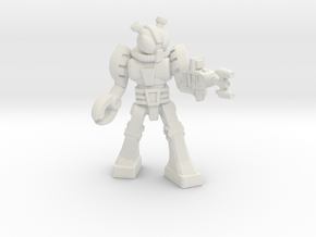 Waruder Kabutron Trooper, 35mm in White Natural Versatile Plastic