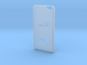 """IPhone 6 Case """"ROSE"""" in Smooth Fine Detail Plastic"""