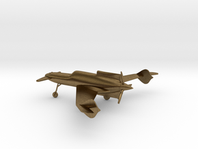 Curtiss-Wright XP-55 Ascender in Natural Bronze: 1:144