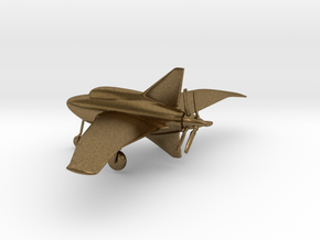 Northrop XP-56 Black Bullet in Natural Bronze: 1:160 - N