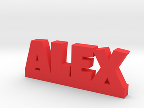 ALEX Lucky in Red Processed Versatile Plastic
