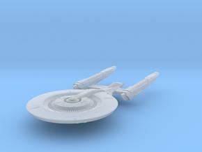 BattleHood Class  Cruiser in Smooth Fine Detail Plastic