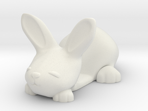 Smartphone holder - Tiny Bunny in White Natural Versatile Plastic