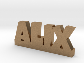 ALIX Lucky in Natural Brass
