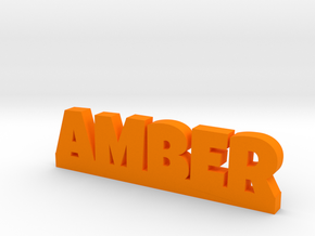 AMBER Lucky in Orange Processed Versatile Plastic