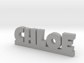 CHLOE Lucky in Aluminum