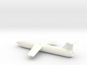 1/72 Scale Martin SSM-A-1 MGM-1 Matador in White Processed Versatile Plastic