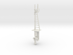 LH Bracket Signal - Even Height Dolls HO NSWGR LQ in White Natural Versatile Plastic