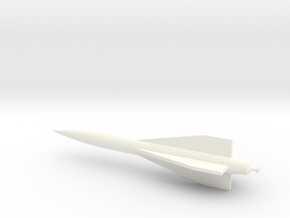 1/48 Scale Hawk Missile in White Processed Versatile Plastic