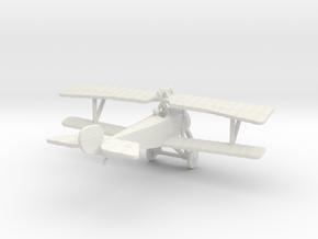 Nieuport 11 in White Natural Versatile Plastic: 1:100