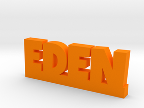 EDEN Lucky in Orange Processed Versatile Plastic