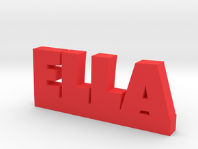 ELLA Lucky in Red Processed Versatile Plastic