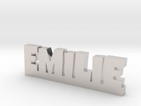 EMILIE Lucky in Platinum