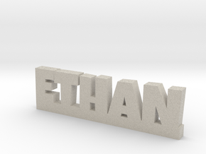 ETHAN Lucky in Natural Sandstone