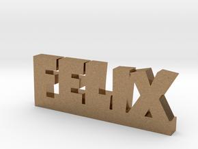FELIX Lucky in Natural Brass