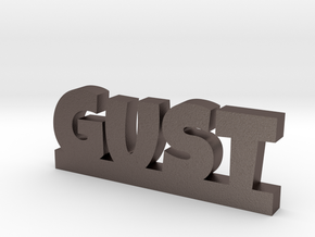 GUST Lucky in Polished Bronzed Silver Steel