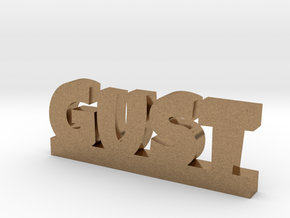GUST Lucky in Natural Brass