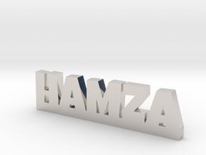 HAMZA Lucky in Rhodium Plated Brass