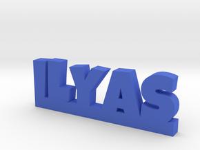 ILYAS Lucky in Blue Processed Versatile Plastic