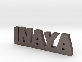 INAYA Lucky in Polished Bronzed Silver Steel