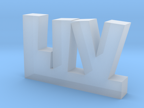 LIV Lucky in Smooth Fine Detail Plastic
