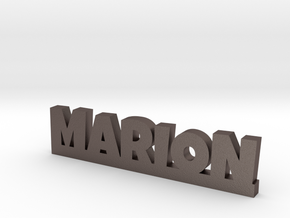 MARION Lucky in Polished Bronzed Silver Steel