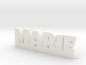 MARIE Lucky in White Processed Versatile Plastic