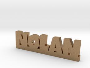 NOLAN Lucky in Natural Brass