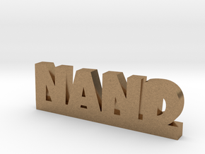 NAND Lucky in Natural Brass
