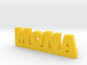 MONA Lucky in Yellow Processed Versatile Plastic