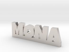 MONA Lucky in Platinum
