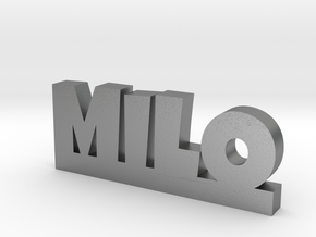 MILO Lucky in Natural Silver