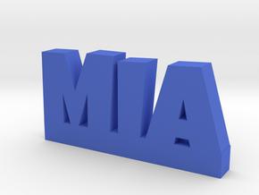 MIA Lucky in Blue Processed Versatile Plastic