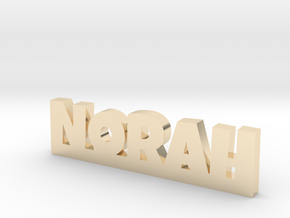 NORAH Lucky in 14k Gold Plated Brass