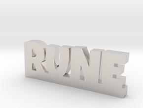 RUNE Lucky in Platinum