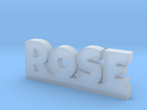 ROSE Lucky in Smooth Fine Detail Plastic