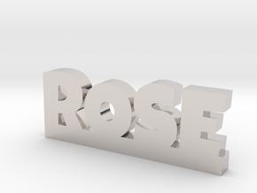 ROSE Lucky in Platinum