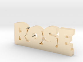 ROSE Lucky in 14k Gold Plated Brass