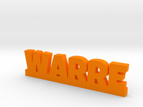 WARRE Lucky in Orange Processed Versatile Plastic