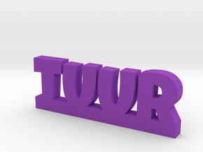 TUUR Lucky in Purple Processed Versatile Plastic