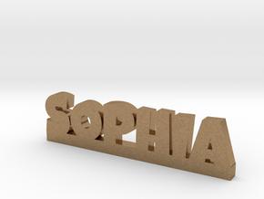 SOPHIA Lucky in Natural Brass