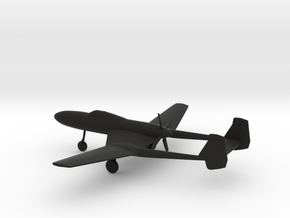 Vultee XP-54 Swoose Goose in Black Natural Versatile Plastic: 1:200