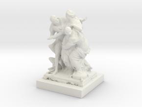 Printle Thing Classic Statue 1/24 in White Natural Versatile Plastic