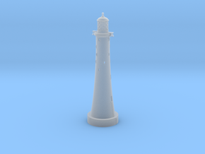 Eddystone Lighthouse 1:1250 scale in Smoothest Fine Detail Plastic